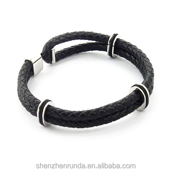 Alibaba bijoux dreamcatcher ship bracelets,leather bracelet jewelry made in Runda