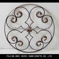 decorative metal round wall hanging