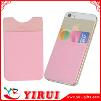 mini microfiber cell phone smart card holder