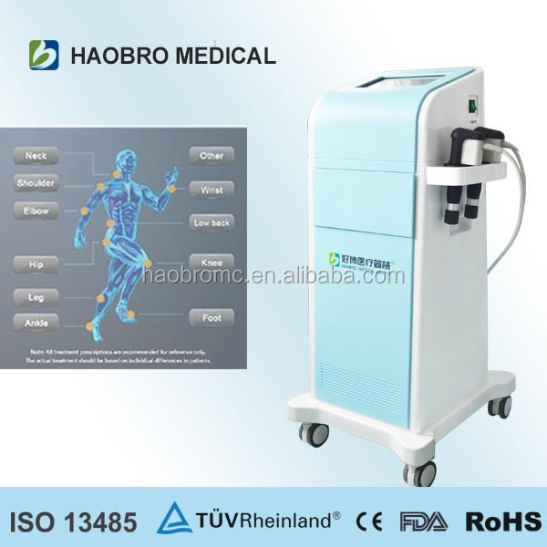 Extracorporeal electric physical Shock Wave Therapy Equipment device for Chronic Pain muscular