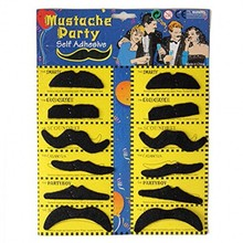 Wholesale Self Adhesive Mustache Party Supplies Photo Booth Props Fake Mustaches