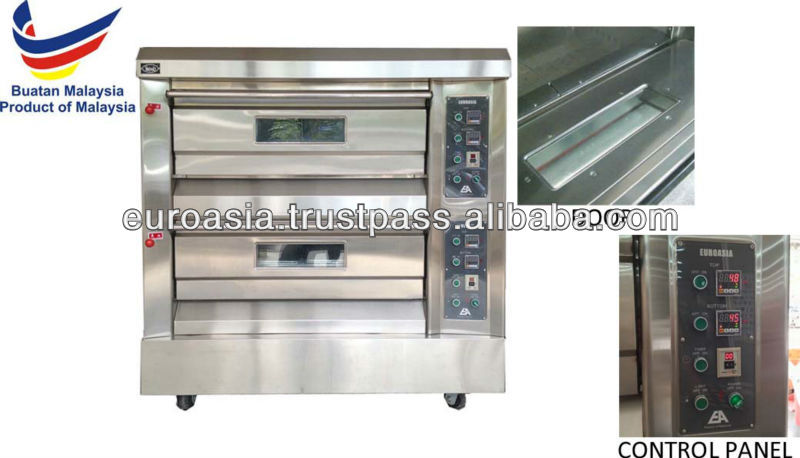 OVEN - GAS OVEN 2-DECK 4-TRAY (EA)