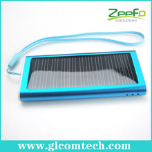 Solar energy mobile charger for iPhone iPad iPod Samsung HTC Nokia Moto Sony Ericsson most phones, MP3 4 player