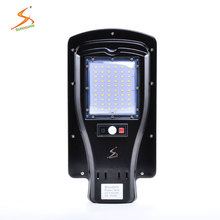 3 Years warranty outdoor waterproof IP65 integrated aluminum streetlight housing solar led street road light