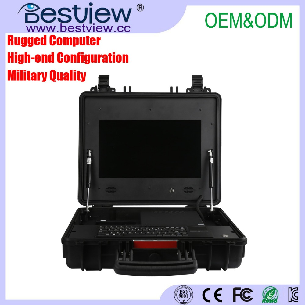 "15.6"" Portable Military Rugged All-in-one Computer"