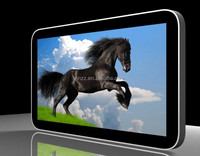 New wall mounted 43 inch ir touch screen lcd advertising player advertising display monitor