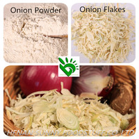Dehydrated garlic, ginger and onion powder