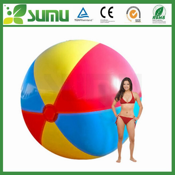 eco-friendly inflatable pvc giant beach ball
