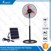 12v dc solar powered portable stand rechargeable fan