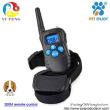 Remote dog training (1 for 3)Vibration Bark Beeper Collar Rechargeable PET998DRB
