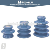 ANSI 33K Vhigh voltage electrical Porcelain pin insulator