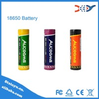 Newest Aucooma IMR 3000mAh 40A 3.7V li-ion 18650 battery with flat top