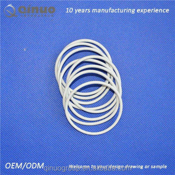 White silicone seal rubber o rings