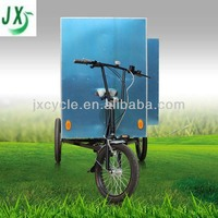 high quality enclosed electric delivery tricycle for sale