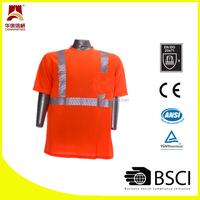 Segmented heat transfer safety shirt