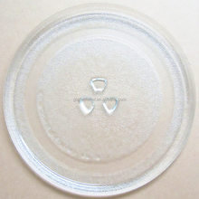 "Microwave Glass Turntable Plate 9.5"" or 245mm"