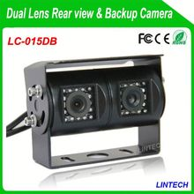 China supplier dual lens ford ranger reversing camera for trucks