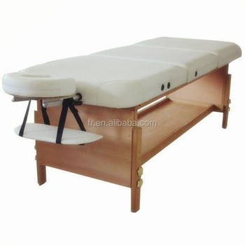 stationary massage table bed