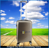 ABS+PC Trolley Luggage with Printing Logo