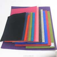 Hot sale 3mm thickness 100% color wool felt
