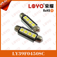 4smd 5050 car led festoon light with can bus, error free car led festoon light
