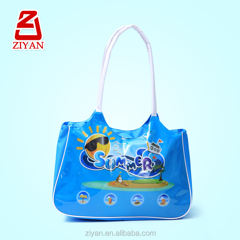 Promotional South Korean Style Fashion Large Summer Beach Bag Men