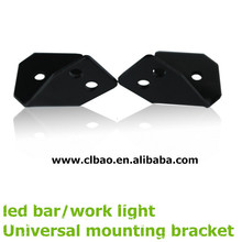 Universal led car lamp bracket, auto led work light Universal mounts, led bar light mounting bracket