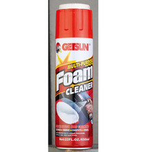 Getsun G-5014 Multi-Purpose Foam Cleaner with brush