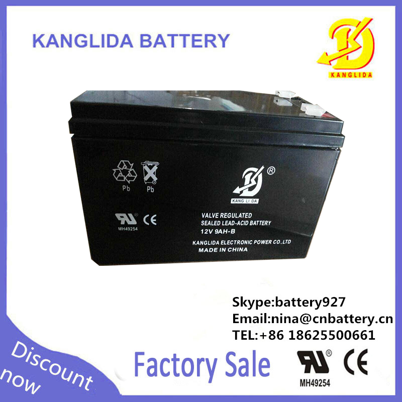 12v 9ah rechargeable storage battery, 9ah battery for kid toy car