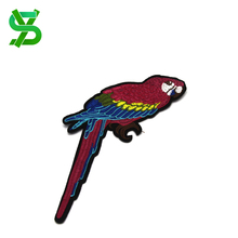 Bird embroidered patches digitizing applique embroidery for jeans