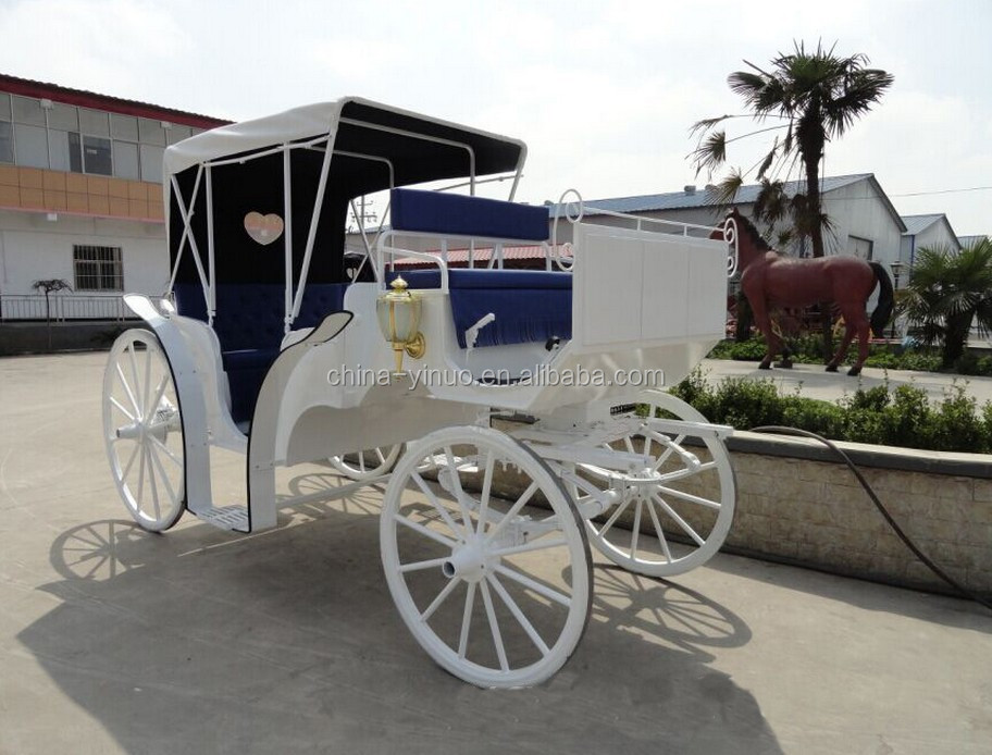 Yizhinuo sightseeing horse carriage/horse wagon for Activity, business, wedding