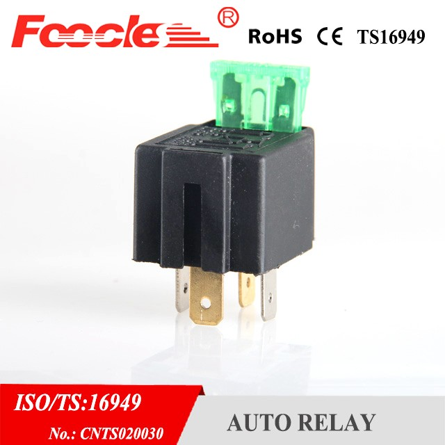 automotive relay 30amp 12v relay 5 pin with fuse