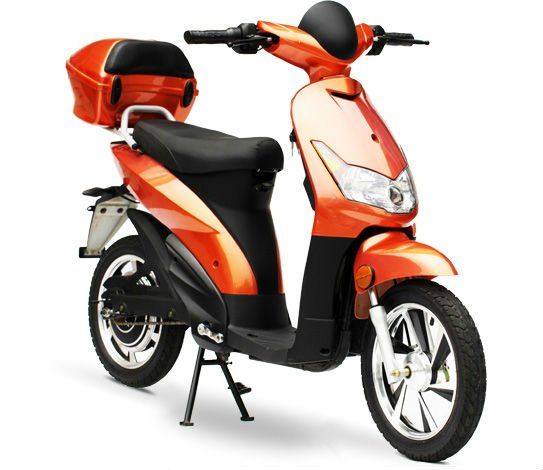 lead acid battery / Lithium ion battery 500W 800W commuting electric scooter with pedal , target electric bicycle