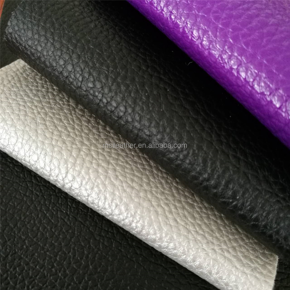 PVC artificial leather for sofa colorful leather sofa cover material