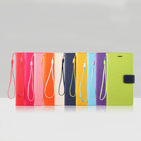 Latest design mobile phone leather case for apple iphone4 4s/5