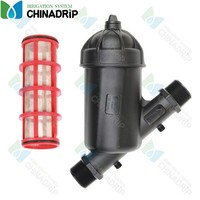 Irrigation water treatment plastic screen filter