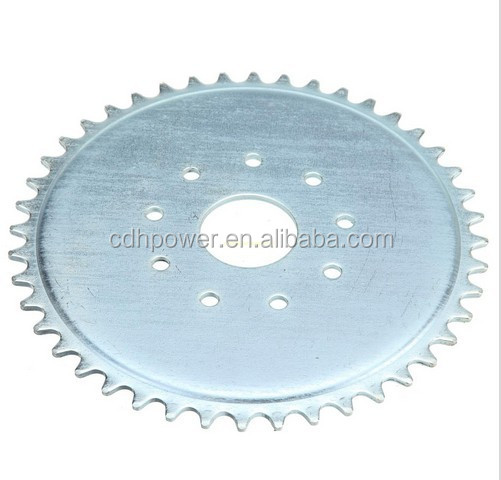 CDH spare parts of bicycle engine kit/ sprocket for motorized bike