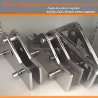 D Shaped Glass Clamps 2008 Beijing Olympic Games Curtain Wall Quality Supplier