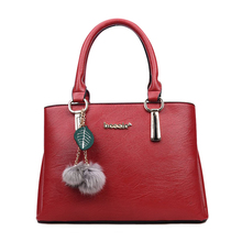 2018 Brand Genuine PU Leather Girl Tote Handbags Shoulder Bag Crossbody Purse for women Ladies
