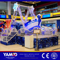 Yamoo new product amusement park mini boat ride game machine ice pirate ship playground equipment with factory pirate