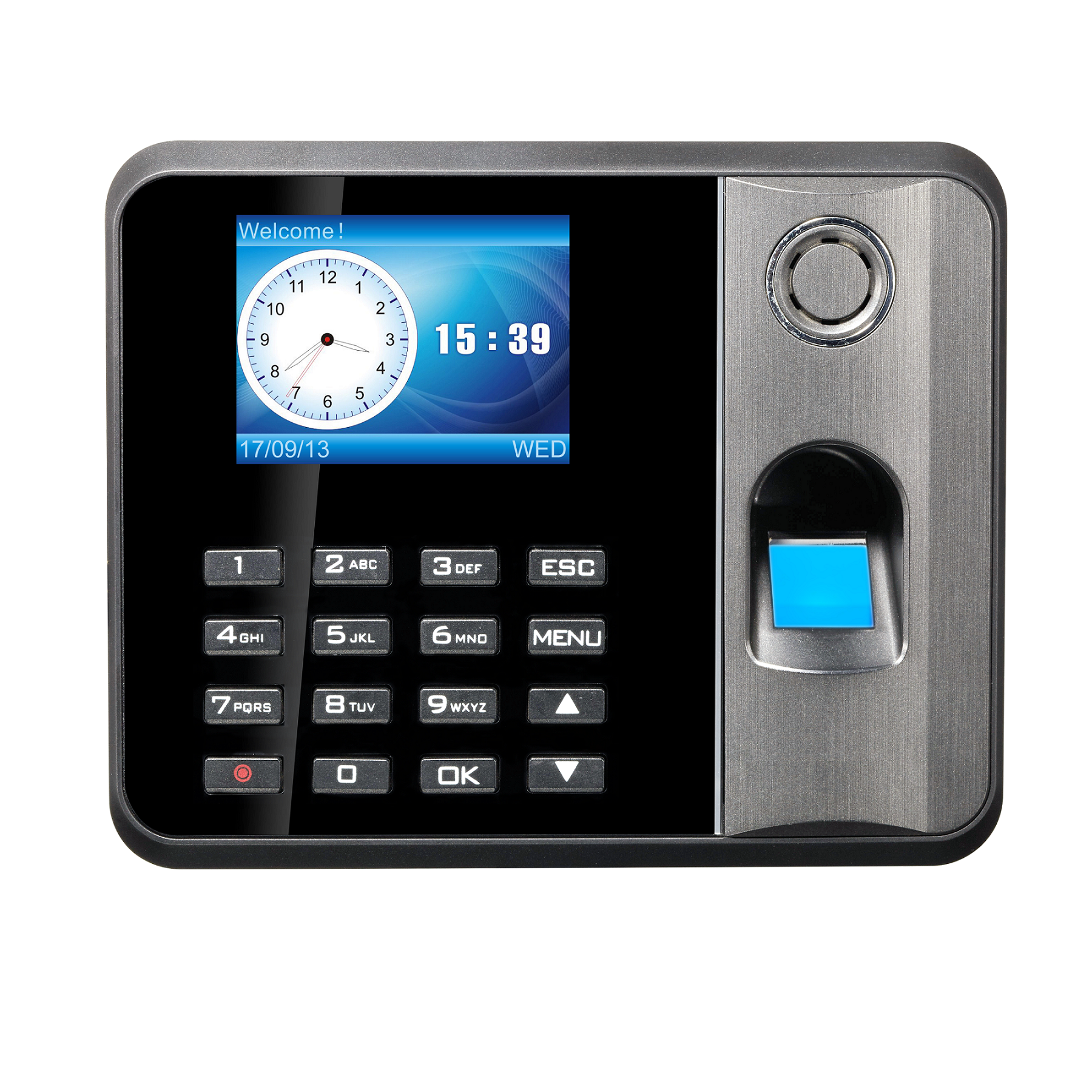 OEM <strong>Manufacturer</strong> Excel Reprot RFID Card Standalone Fingerprint Time Attendance System