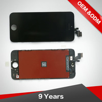 For Iphone 5 Lcd Touch Screen Digitizer Display , Competitive Price 100% New Lcd Screen