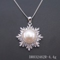 Freshwater Pearl Jewelry 925 Sterling Silver Pendant FreshWater Pearl Sets for Girl's Pnedant DR032462P