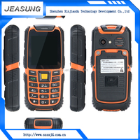 cheapest waterproof shockproof dustproof 2.4 inch screen feature phone rugged mobile IP68