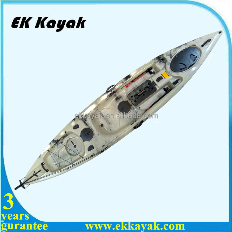 Comfortable Seat Equiped Fishing Kayak With Pedals For
