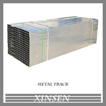 Galvanized steel joist for metal building material partition