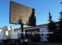 P10 advertising mobile truck led display/led screen