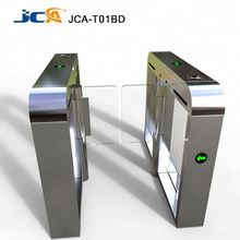 High speed glass arm full automatic & sliding flap barrier gate intelligent for office building