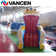 Guangzhou Vancen Factory Living Room Furniture 1.8m high event party rental inflatable birthday chair