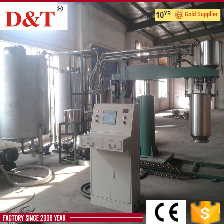 auto polyurethane foam production line for making mattress